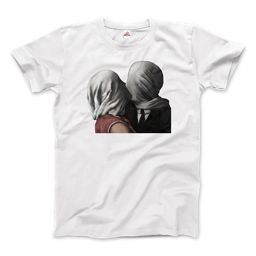 Rene Magritte the Lovers II (1928) Artwork T-Shirt