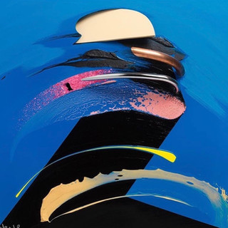 Blue Portrait 2013