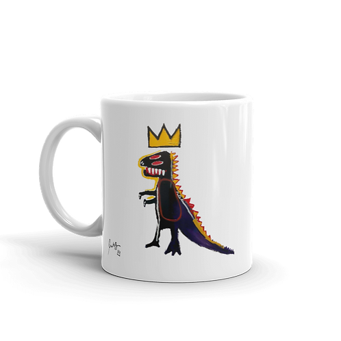 Jean-Michel Basquiat Pez Dispenser (Dinosaur) 1984 Artwork Mug