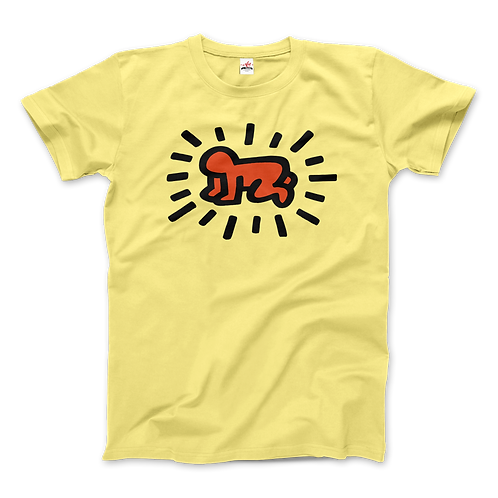 Keith Haring Radiant Baby Icon, 1990 Street Art T-Shirt