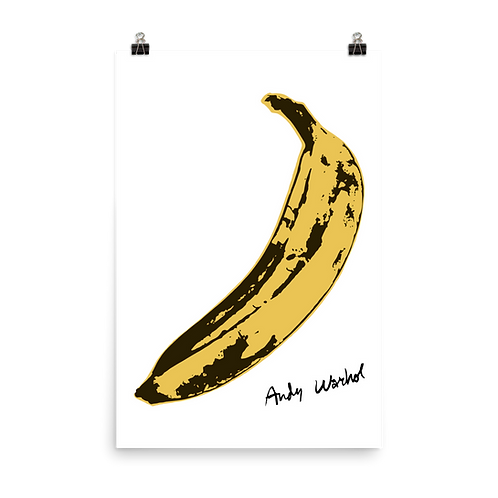 Andy Warhol's Banana, 1967 Pop Art Poster