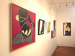 MG / Michel Gagnol - popart - strasbourg - erotic art - artiste peintre - french artist - portrait - femme - bondage