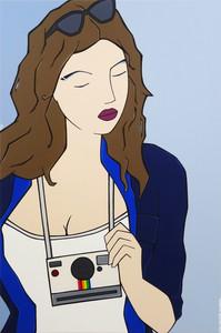 Miss gynoïde polaroid