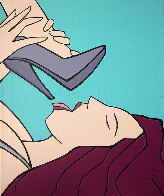 MG / Michel Gagnol - popart - strasbourg - erotic art - artiste peintre - french artist