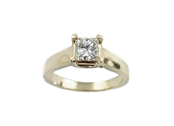 14k 0.66ct diamond ring