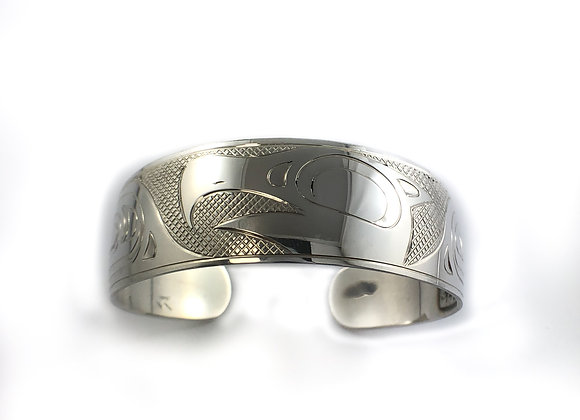 justin rivard sterling silver eagle bracelet