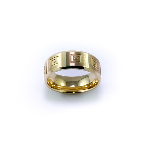 8mm 10k gold band