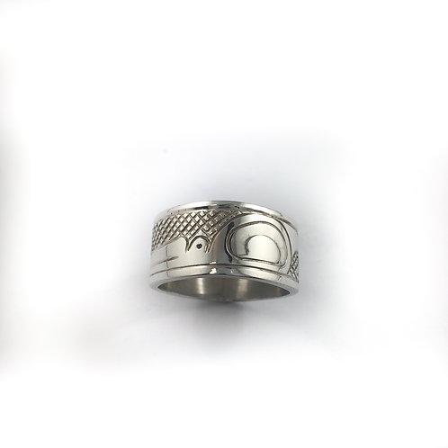 justin rivard sterling silver ring