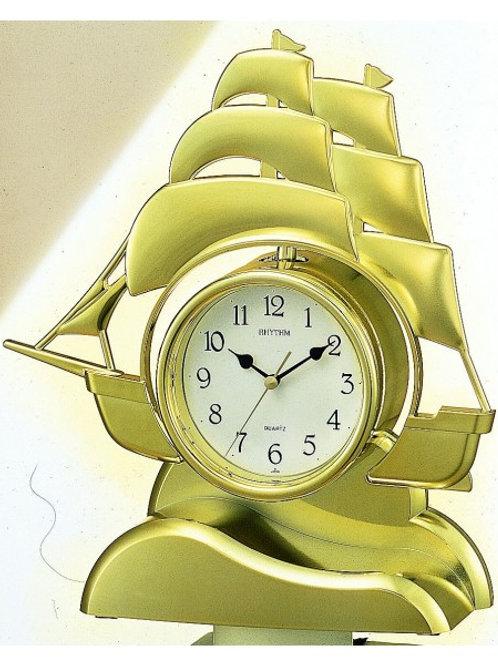 sailing ship mantle clock
