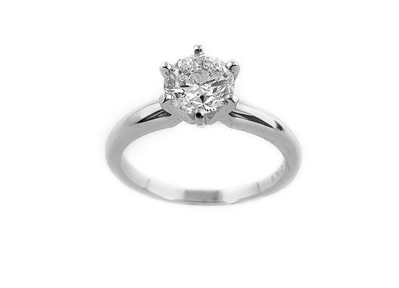 14k 0.98ct diamond solitaire