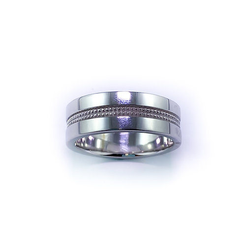 7.5mm 10k gold band