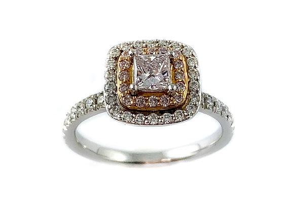 18k .27ctd diamond ring