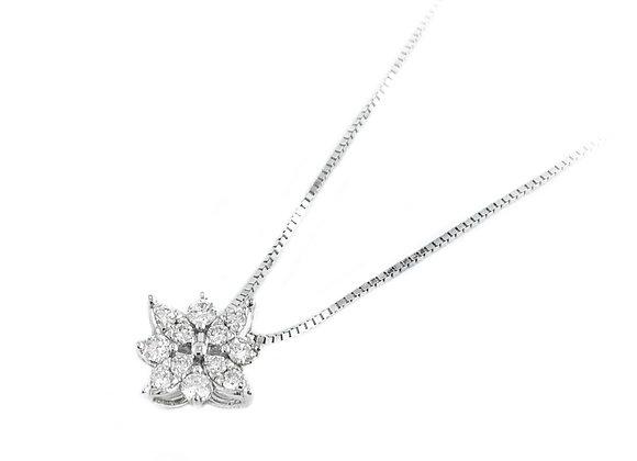 14k 0.36ctw diamond pendant