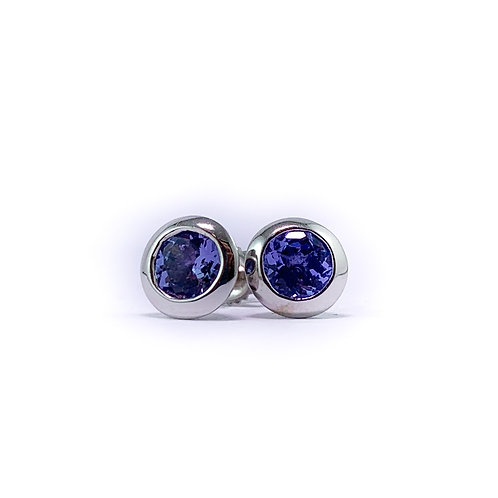 10k tanzanite earrings
