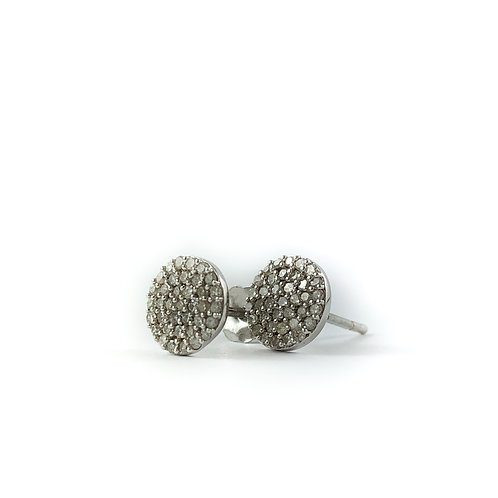 10k 0.26ctw diamond earrings