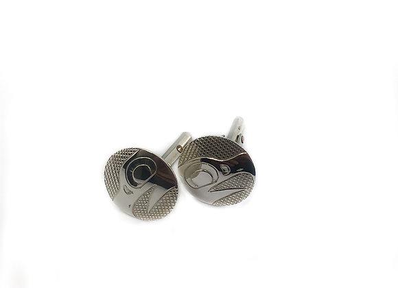 justin rivard sterling silver cufflinks