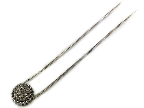 10k 0.10ctw diamond necklace