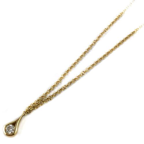 14k 0.08ct Canadian diamond pendant