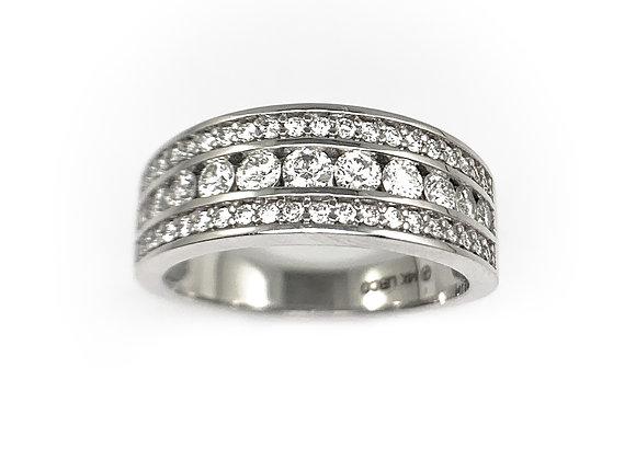 14k 0.63ctw diamond ring