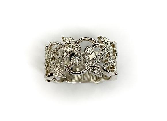 14k 0.40ctw diamond ring