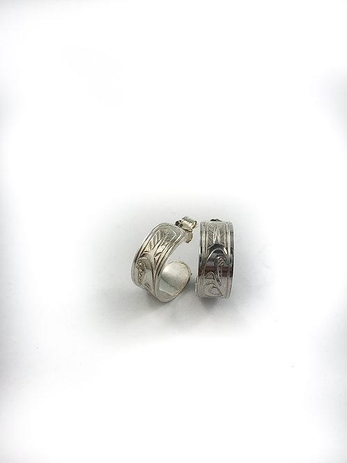 justin rivard sterling silver earrings