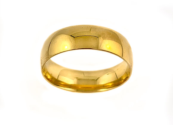 10k 7mm gents band size 11