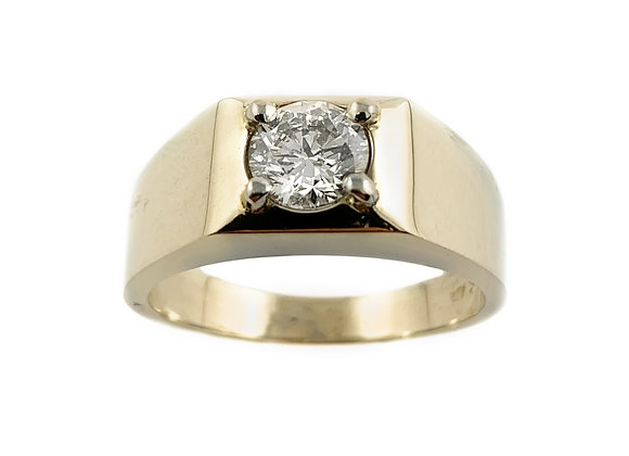 14k 1.03ct diamond ring