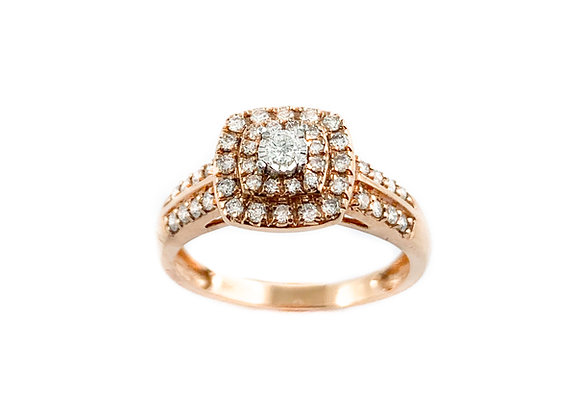 10k 0.40ctw diamond ring