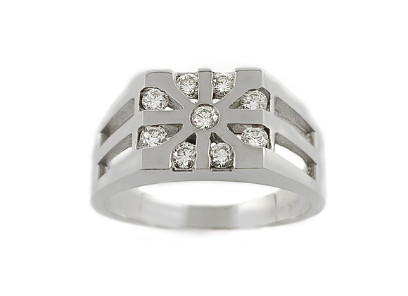 14k 0.45ctw diamond ring