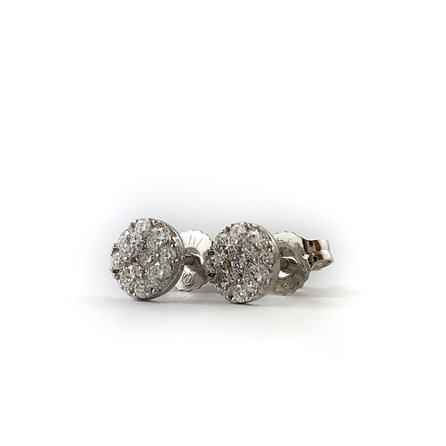 10k diamond earrings