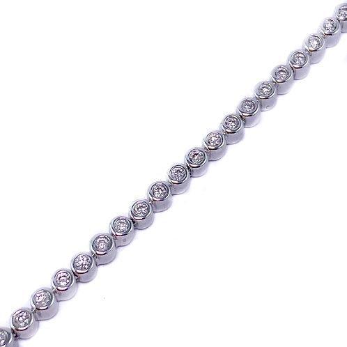 10k 0.66ctw diamond bracelet