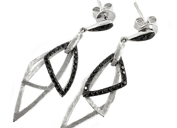 14k 0.33ctw diamond earrings