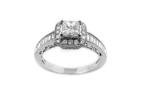 14k 0.60ct diamond ring