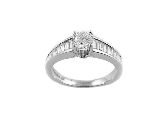 14k 0.50ct diamond ring