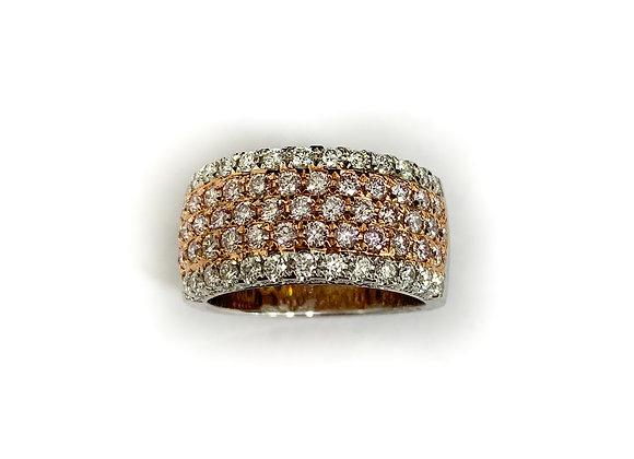 18k 1.01ctw diamond ring