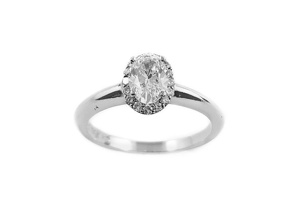14k 0.55ct diamond ring