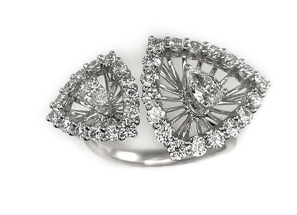 18k 1.27ctw diamond ring