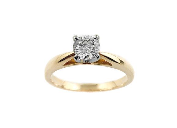 14k 0.57ct diamond ring