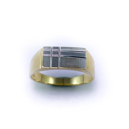 10k gents ring
