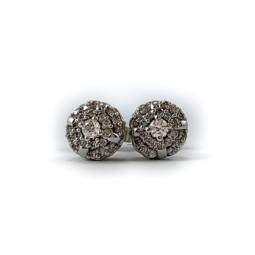 10k Canadian diamond earrings