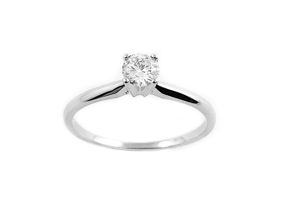 14k 0.20ct diamond ring