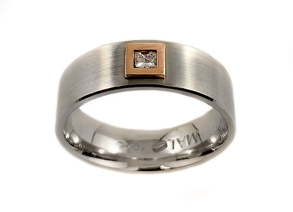 10k 0.10ct diamond ring