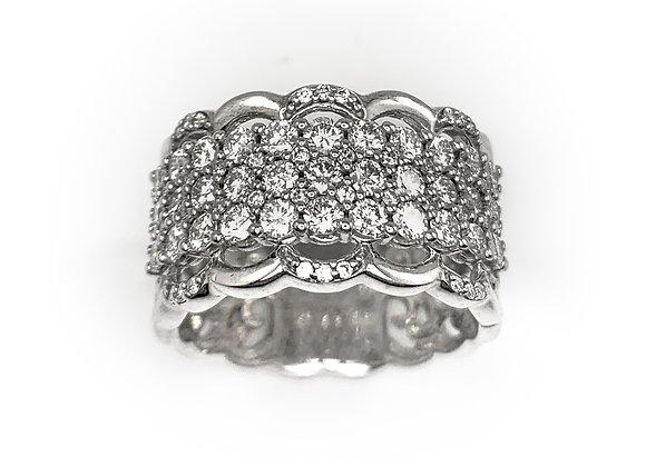 10k 1.12ct diamond ring
