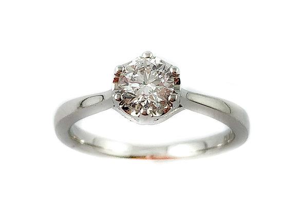 14k .50ct diamond solitaire