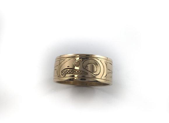 justin rivard 14k gold ring