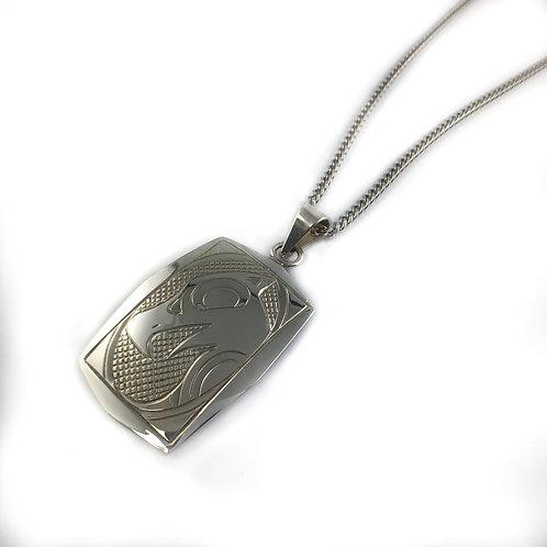 justin rivard sterling silver pendant