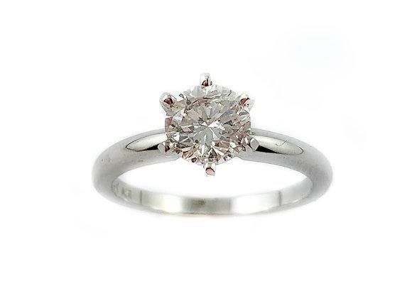 14k .47ct SI2 H diamond solitaire