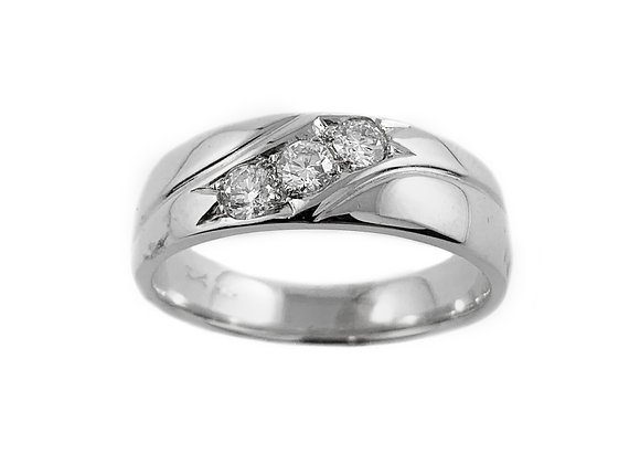 10k 0.36ctw diamond ring
