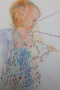 Лизавета девочка из солнца и из ветр