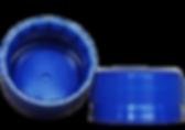 Tapa 38mm linerless-liner incorporado